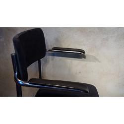 Vintage Tubax buizenframe stoel - refurbished
