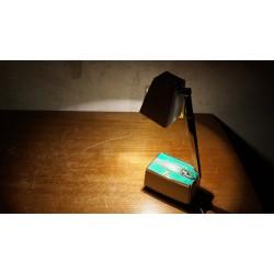 Vintage Z lampen tafellampje wit-groen