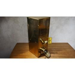 Bijzonder mooie mid-century messing koffie dispenser