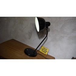 Mooie industriële tafellamp - WILA - zwart