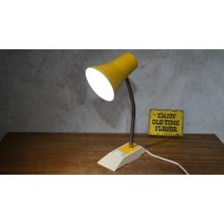 Vintage Anvia 6057 tafellamp - geel