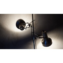 Zeldzame Anvia vloerlamp - aluminium spots