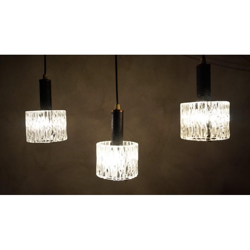 Leuke driedubbele vintage hanglamp