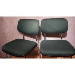 Mooie Gispen T7 (Model 1231 Cirrus) stoelen -Cordemeyer - groen
