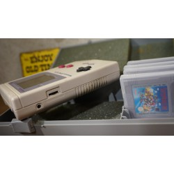 NINTENDO GAME BOY Classic - met 4 spellen in koffer