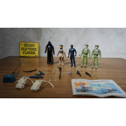 5 Original Star Wars action figures - w.o. Darth Vader en Leia- 1982