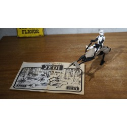 Orinigal Star Wars Kenner Speeder bike vehicle - 1983