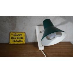 Mooie Hala Zeist wandlamp - groen-wit