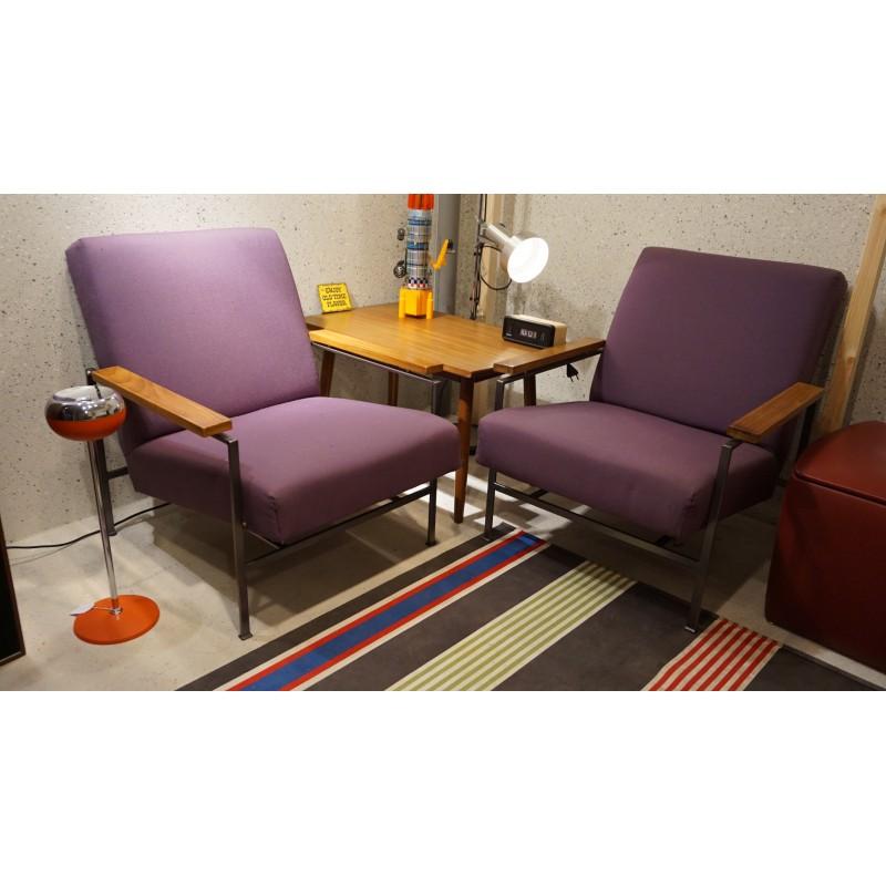 Setje vintage design fauteuils - Rob Parry voor Gelderland