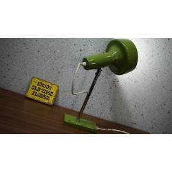 Vintage design wandlampje - groen - Space Age