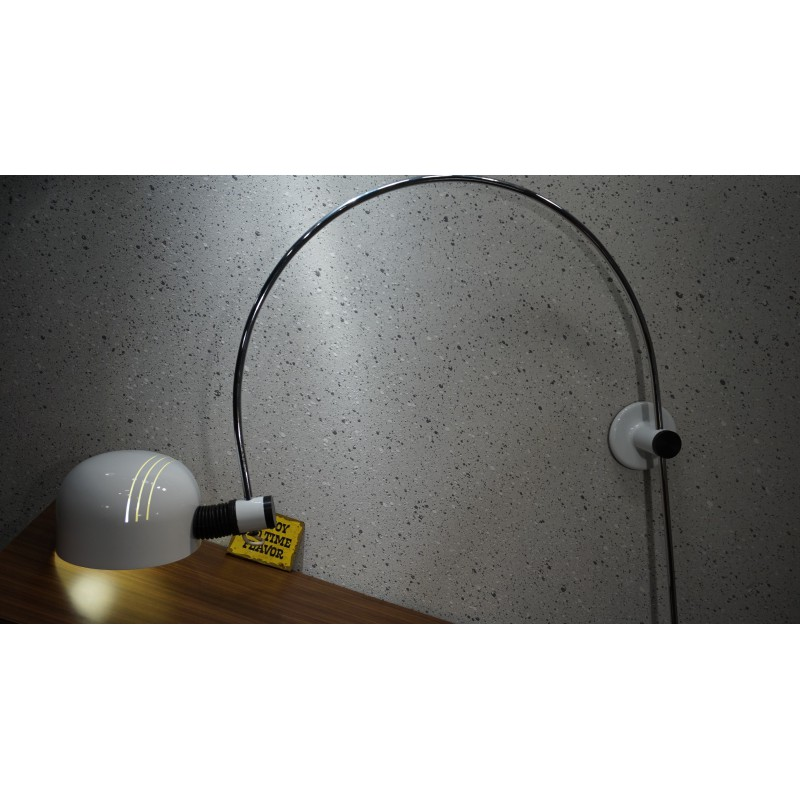Bijzonder mooie vintage design wandlamp (Gepo?)