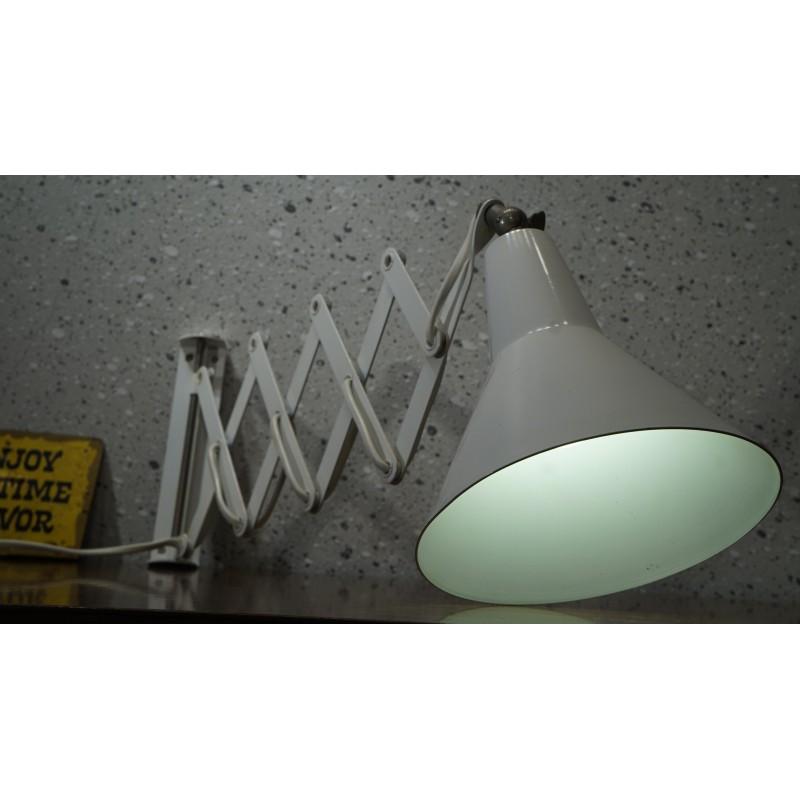 Hele mooie Anvia schaarlamp - wandlamp - wit