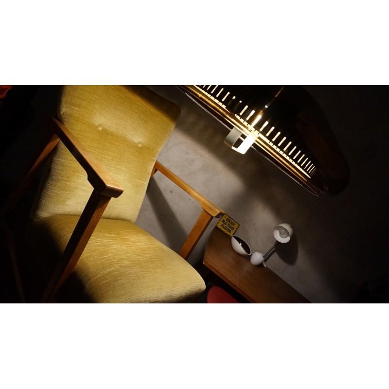 """Mooie vintage """"4 in Eén"""" fauteuil - groen"""