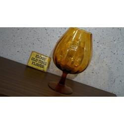 Mooie ambachtelijk geblazen vaas / glas