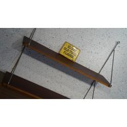 Leuk vintage wandrek - metaal - hout