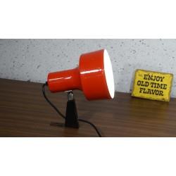 Leuke vintage Anvia design wandlamp - rood
