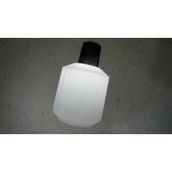 Zeldzame Philips hanglamp - melkglas - blauw glas