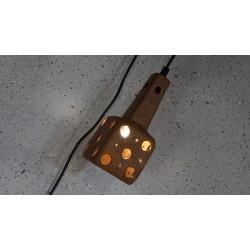 Geweldig leuk vintage keramieken wandlampje