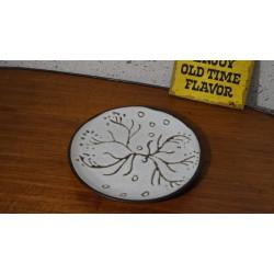Leuk mysterieus vintage keramieken sier schoteltje