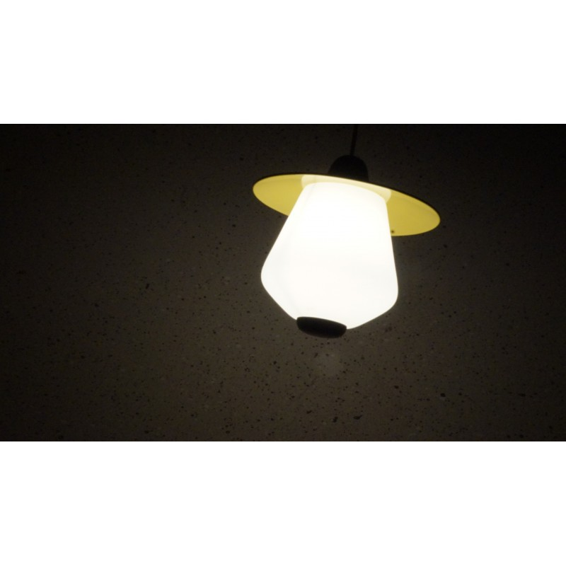 Bijzonder mooi vintage hanglampje - Dijkstra - 50s