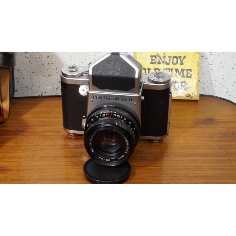 Pentacon Six TL - Zeiss 80mm- bijzondere vintage camera - 1956