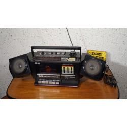 Zeldzame AKAI PJ15 radio cassette recorder - 3D speakers