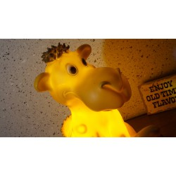 Hele mooie Heico tafellamp - drommedaris