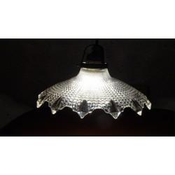 Bijzonder mooi dikglazen hanglampje