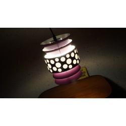 Mooie Massive design hanglampen - paars