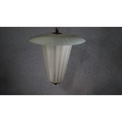 Prachtige glazen hanglamp - lantaarn