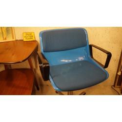 Tecno Modus bureaustoel blauw - Osvaldo Borsani