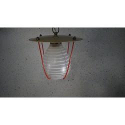 Leuk vintage hanglampje - lantaarntje