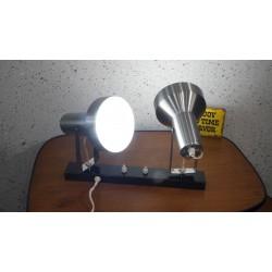 Mooie aluminium dubbele wandlamp - Anvia