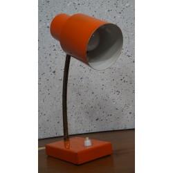 Mooi hala Zeist tafellampje - bureaulampje - oranje