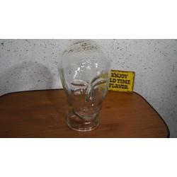 Mooi glazen koptelefoon hoofd - blanco 2