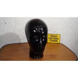 Mooi glazen koptelefoon hoofd - zwart