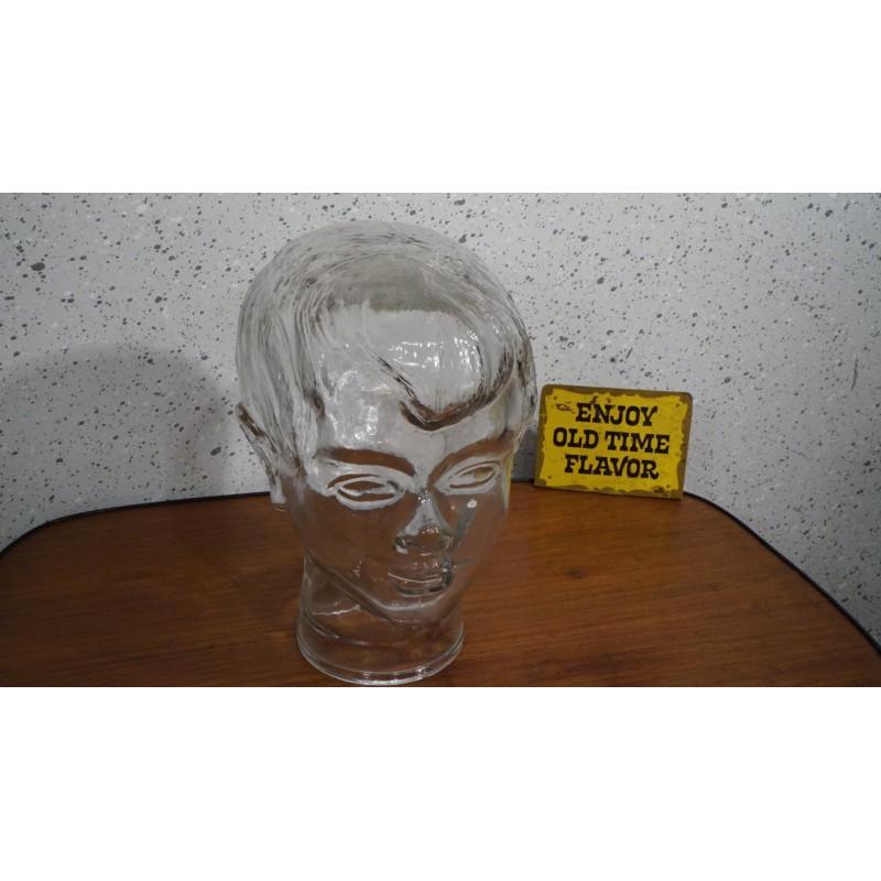 Mooi glazen koptelefoon hoofd - kind