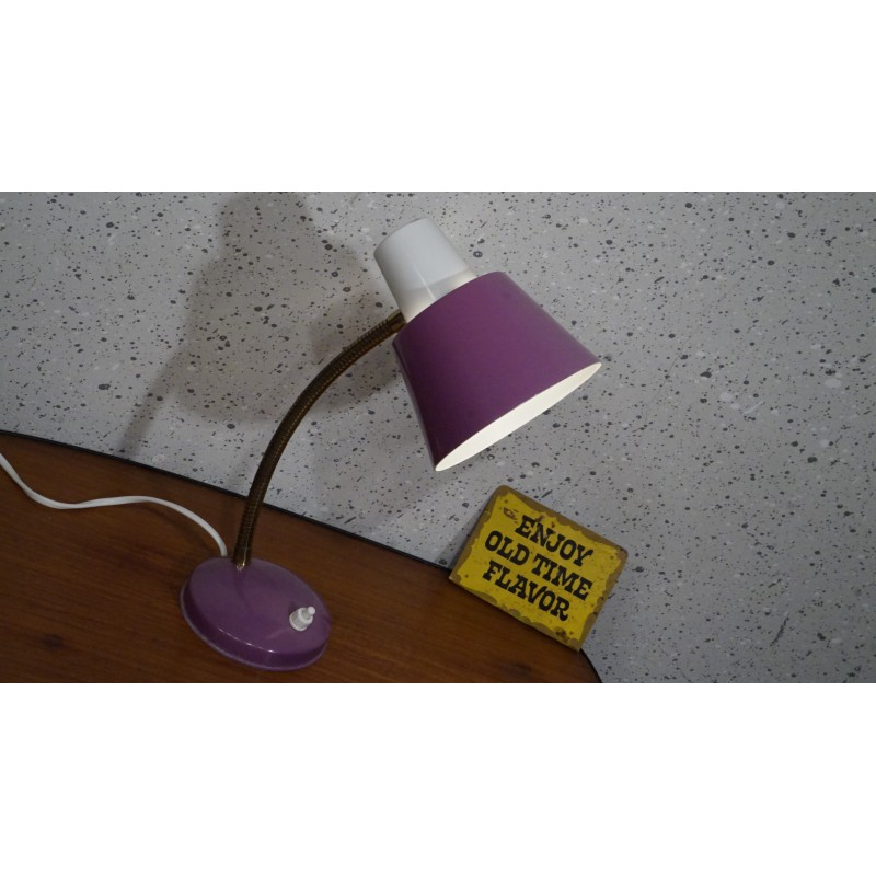 Mooi hala Zeist tafellampje - paars