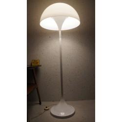 Mooie vintage Space Age design vloerlamp - hala Zeist - Mushroom