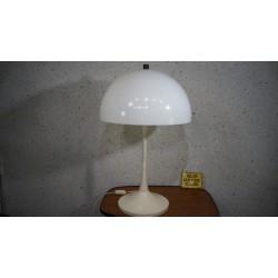 Mooie vintage Space Age design tafellamp - hala Zeist - Mushroom