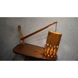Hele mooie AB Nordisk wandlamp - hout