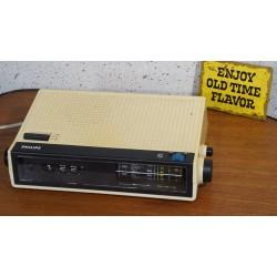 Leuke Philips RS250 Rotatie wekker - radio