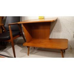 Prachtig vintage TV-meubel - bijzettafeltje - fineer