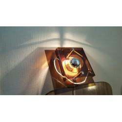 Raak wandlampje van perspex - Space Age