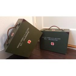 vintage zuurstof koffer uit NL leger