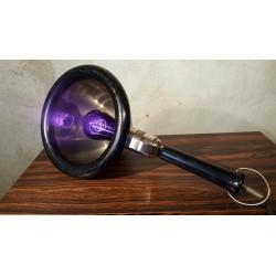 Vintage loop lamp - hand lamp - UV lamp - metaal/hout