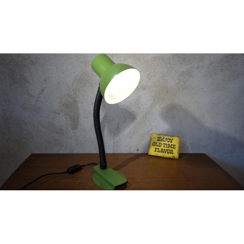 groen hala Zeist bureaulampje in heel mooie staat