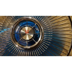 "Prachtige 16"" vintage Gold Star FD 3005 Cool Breeze tafelventilator"