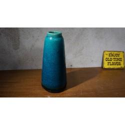 vintage Pieter Groeneveldt vaasje - azuurblauw