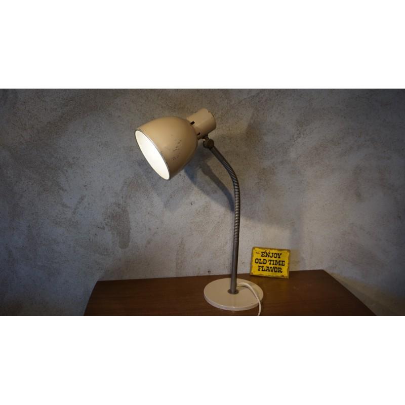 Mooie industrieel ogende bureaulamp - HALA model no.15 – 50s